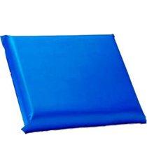 travesseiro de espuma com capa impermeável orthovida 50 x 35 x 8cm