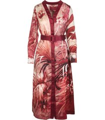 for restless sleepers red clizio midi dress
