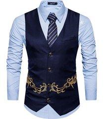 men suit vest gilet slim fit waistcoat colete casual business wedding dress vest