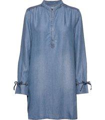 vincacr long shirt tuniek blauw cream