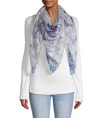 chevron print shawl