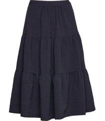 shai knälång kjol blå baum und pferdgarten