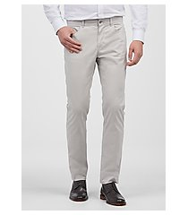 1905 collection tailored fit flat front casual pants by jos. a. bank