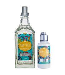 rotina hidratação e spray corporal água de coco tamanho viagem