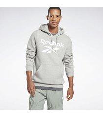 sweater reebok sport identity fleece hoodie