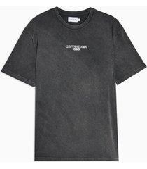 mens 89 outside t-shirt in black