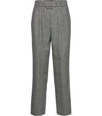 6126 - haim pantalon met rechte pijpen grijs sand