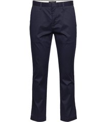 aiden slim rapid movement chino chinos byxor blå banana republic