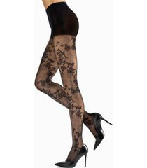 natori women's scarlet lace sheer tights hosiery