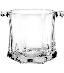 balde de gelo capitol bormioli em vidro transparente 1l