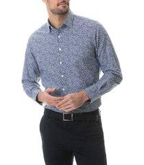 men's rodd & gunn zingonia button-up shirt, size x-large - blue