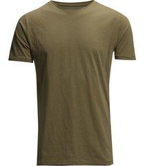 alder basic tee - gots/vegan t-shirts short-sleeved grön knowledge cotton apparel