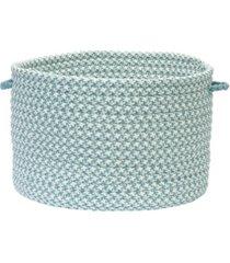 colonial mills outdoor houndstooth tweed braided basket
