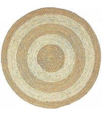 dywan dwukolorowy z trawy morskiej 120 cm