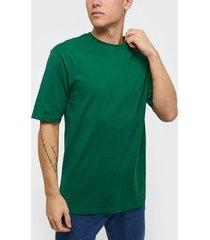 only & sons onsdonnie reg tee noos t-shirts & linnen mörk grön