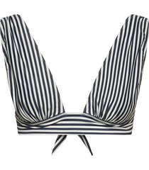 havana bikinitop blauw scampi