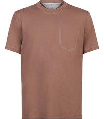 brunello cucinelli loose fit t-shirt