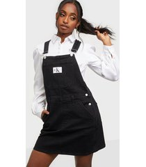 calvin klein jeans overall dress loose fit dresses