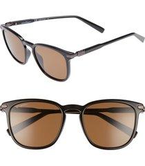men's salvatore ferragamo double gancio 53mm sunglasses -
