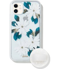 sonix delilah iphone 11 case & slide silicone phone ring - blue