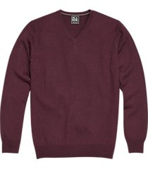jos. a. bank traveler wine modern fit merino sweater