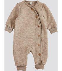 wool overall - ljusbrun