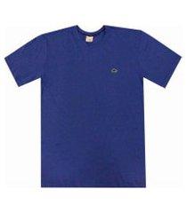 camiseta pau a pique básica azul bic