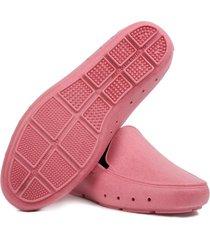 mocasin capri mujer palo rosa