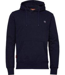 collective hood ub hoodie trui blauw superdry