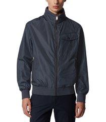 boss men's cuze dark blue jacket