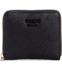 guess noelle small zip around wallet