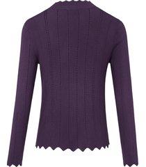trui met lange mouwen van uta raasch paars