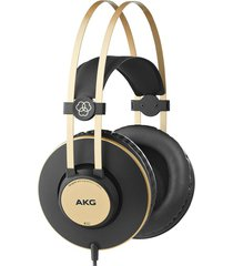 audífonos para estudio akg k92 negro/dorado