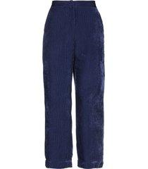 peacock blue casual pants
