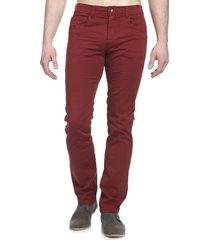 pantalon pasarela dril vinotinto