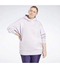 trui reebok sport retro oversize hoodie (plus size)