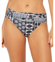 bleu by rod beattie sarong hipster bottom women's swimsuit