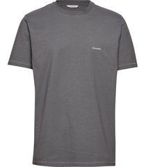live tee t-shirts short-sleeved grijs holzweiler
