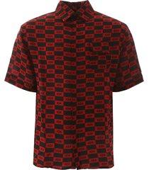 fourtwofour on fairfax short-sleeved shirt