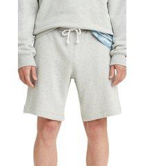 levi's(r) premium red tab(tm) sweat shorts, size medium in light mist heather at nordstrom