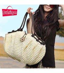 summer style women bag handbags 2017 totes straw bag woven straw beach bag famou