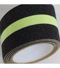 cinta del desgaste antideslizante luminosa resistente noctilucence antideslizante cinta segura - tira luminoso en el 50mmx4.5m media