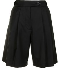 anna quan vita tailored shorts - black