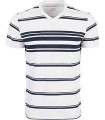 sun + stone men's variegated striped t-shirt, created for macy's
