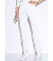 comfort plus-broek, model carina van raphaela by brax wit