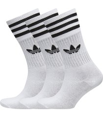 solid crew sock underwear socks regular socks vit adidas originals