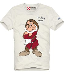 grumpy i hate everybody printed white t-shirt - disney special edition ©