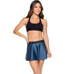 falda deportiva mujer babalú poliamida-23 azul petróleo 93893