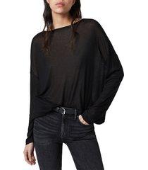 women's allsaints francesco rita long sleeve t-shirt