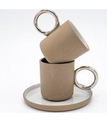 filiżanka do espresso / coffee / platyna